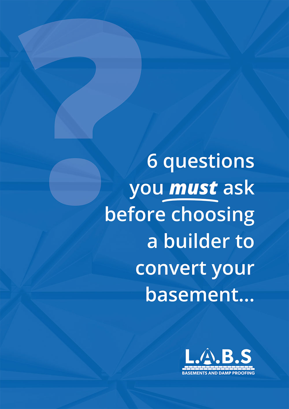 6 Questions to ask before Converting Your Basement